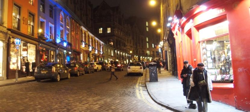 Edinburgh, Scotland: Traveling byTrain